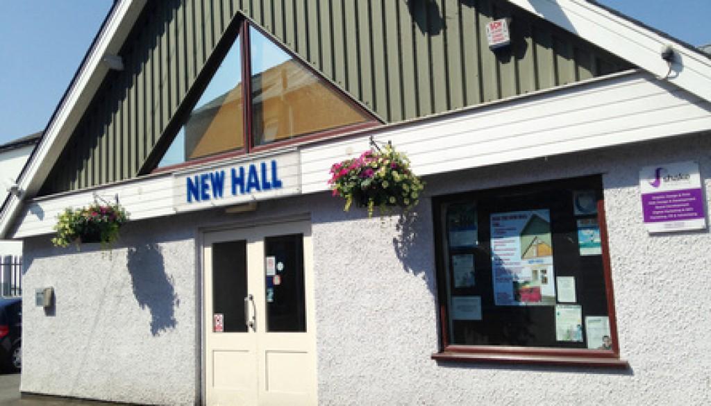 New Hall, Tiverton