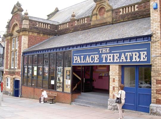 Palace theatre paignton history book