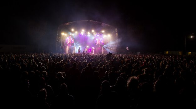 Glastonbudget main stage