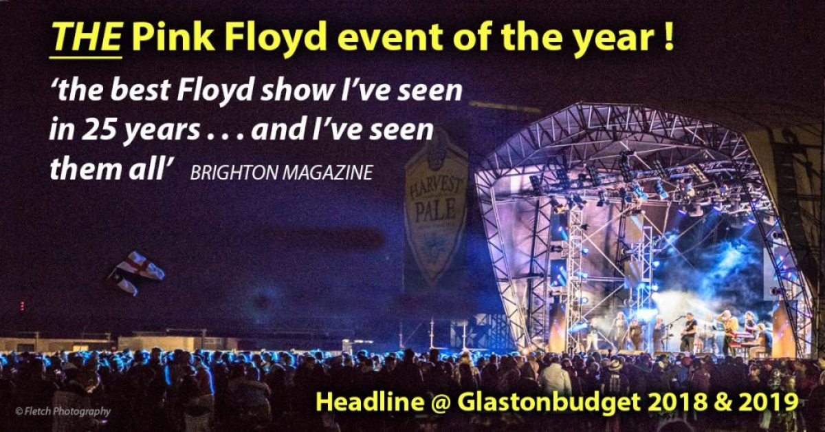 Headlining at Glastonbudget 2018
